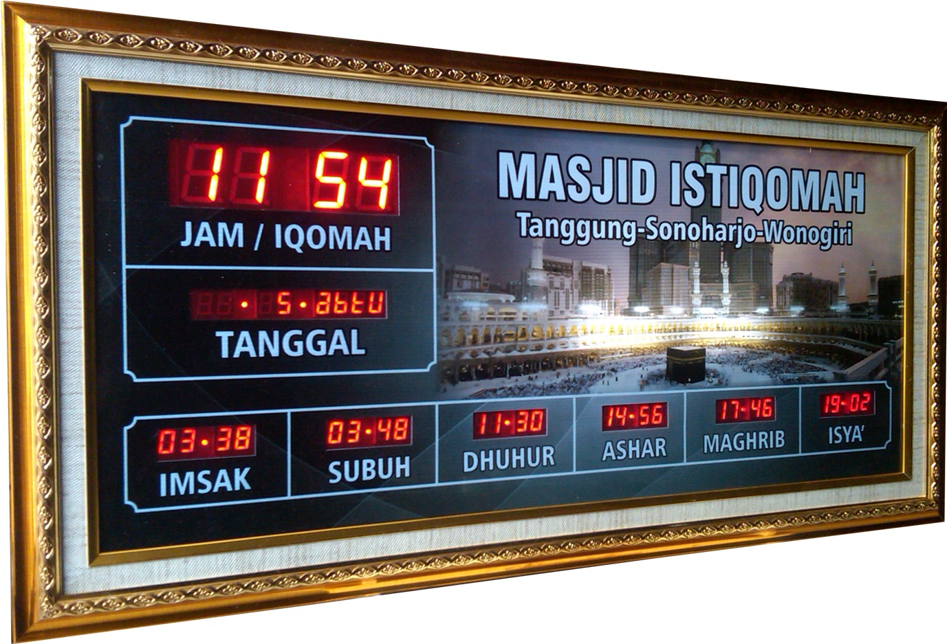 Harga Jam Digital Masjid